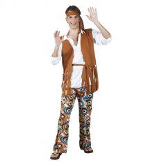 Déguisement de Hippie Homme - Taille Unique