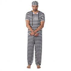 Déguisement de Prisonnier Homme - Taille Unique