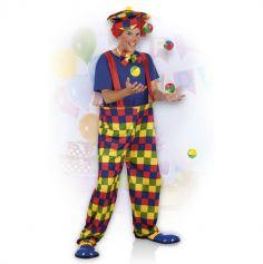 Costume de Clown Jongleur - Taille M/L