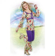 Costume Hippie pour Femme - Taille Unique