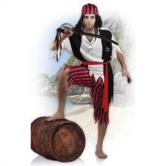 Déguisement Pirate Homme - Taille Unique