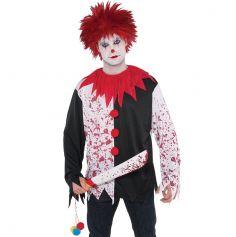 Tee-Shirt de Clown Tueur Homme - Taille Unique