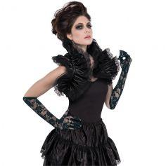 Col Haut Gothique Femme