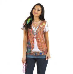 """Tee-shirt """"Hippie"""" - Taille au choix"""