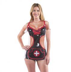 "Tee-shirt humoristique ""Infirmière"" - Taille au choix"