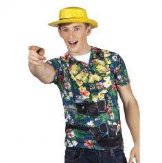 Tee-shirt Touriste à Hawaï - Taille au choix