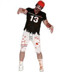 Déguisement Rugbyman Zombie - Taille Unique