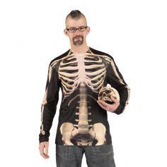 "Tee-shirt à manches longues ""Squelette"""