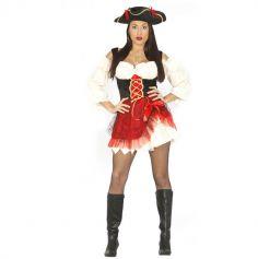 """Déguisement Femme Pirate """"Charlotte"""" - Taille au choix"""