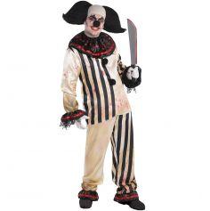 Déguisement Clown de Cirque Fou Homme - Taille Unique