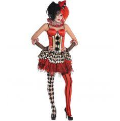 Corset de Clown Circus Femme - Taille au Choix