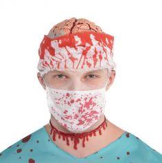 Masque Chirurgical Ensanglanté