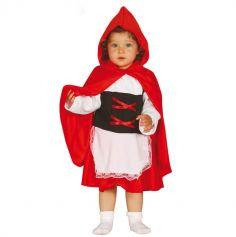 Déguisement Bébé Chaperon rouge - Taille au choix