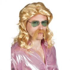 Perruque et Moustache Barry
