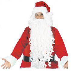 Perruque et Barbe du Père Noël - Extra Longue