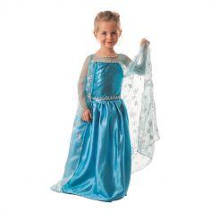 Déguisement Princesse des Glaces Fille - Taille au Choix