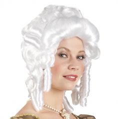 Perruque Femme Baroque - Blanche