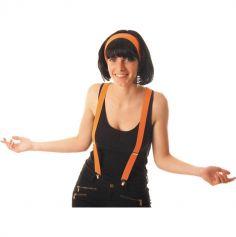 Bretelles Fluo Adulte - Orange