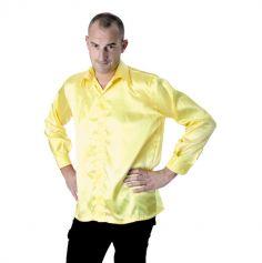 Chemise néon Disco Fluo - Jaune