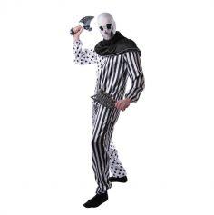 Déguisement Clown Tueur Fou Homme - Taille Unique
