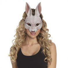 Demi-Masque de Lapin Adulte