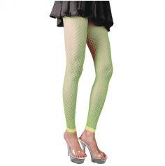 Legging Résille - Vert Fluo