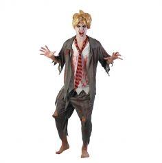 Déguisement Etudiant Zombie Homme - Taille Unique