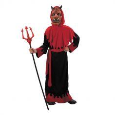 Déguisement de Diable Garçon avec Masque - Taille au Choix