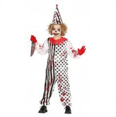 Déguisement de Clown Zombie Enfant - Taille au Choix