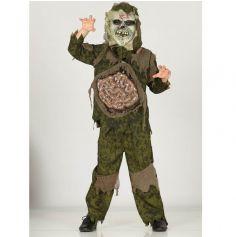 Déguisement Garçon - Zombie (avec masque) - Taille au Choix