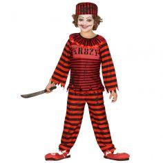 Déguisement Garçon - Psycho Clown - Taille au Choix