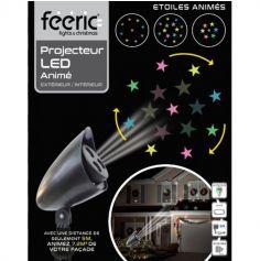 Projecteur Lumineux LED Extérieur - Noël - Etoiles Animées