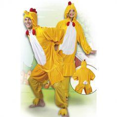 Costume en peluche de Poulet - Taille au choix