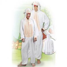 Costume en peluche de Mouton - Taille au choix