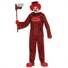 Déguisement Clown tueur Rouge - Taille au choix