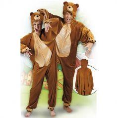 Costume en peluche d'Ours - Taille au choix