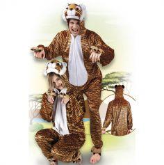 Costume de Tigre en peluche - Taille au choix