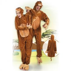 Costume de Singe en peluche - Taille au choix