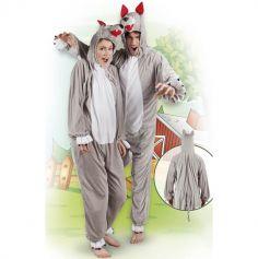 Costume de Loup en peluche - Taille au choix