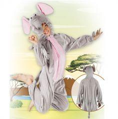 Costume d'Éléphant en Peluche - Taille Enfant