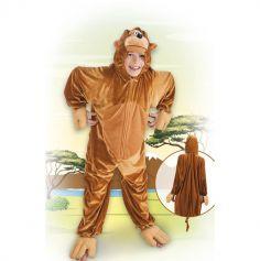 Costume de Singe en Peluche - Taille Enfant