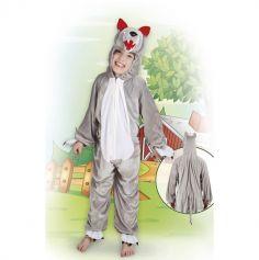 Costume de Loup en Peluche - Taille Enfant