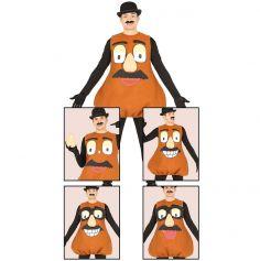 Costume Monsieur Patate Homme - Taille Unique