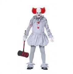 Déguisement Clown Tueur Ensanglanté - Taille au Choix