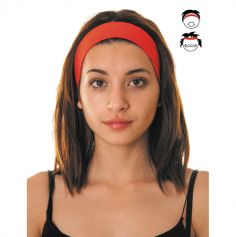 Bandeau 80's - Rouge - Adulte