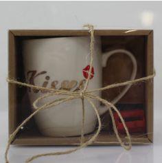 Mug avec Râpe à Chocolat – Kisses