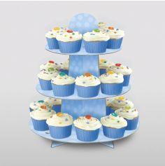 Présentoir à petits gâteaux - Bleu