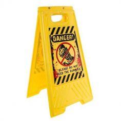 Panneau de signalisation Danger zombies