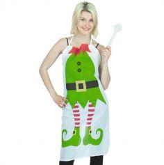 Tablier Elfe du Père Noël