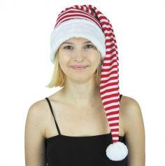 Bonnet de Lutin du Père Noël Extra Long - Adulte